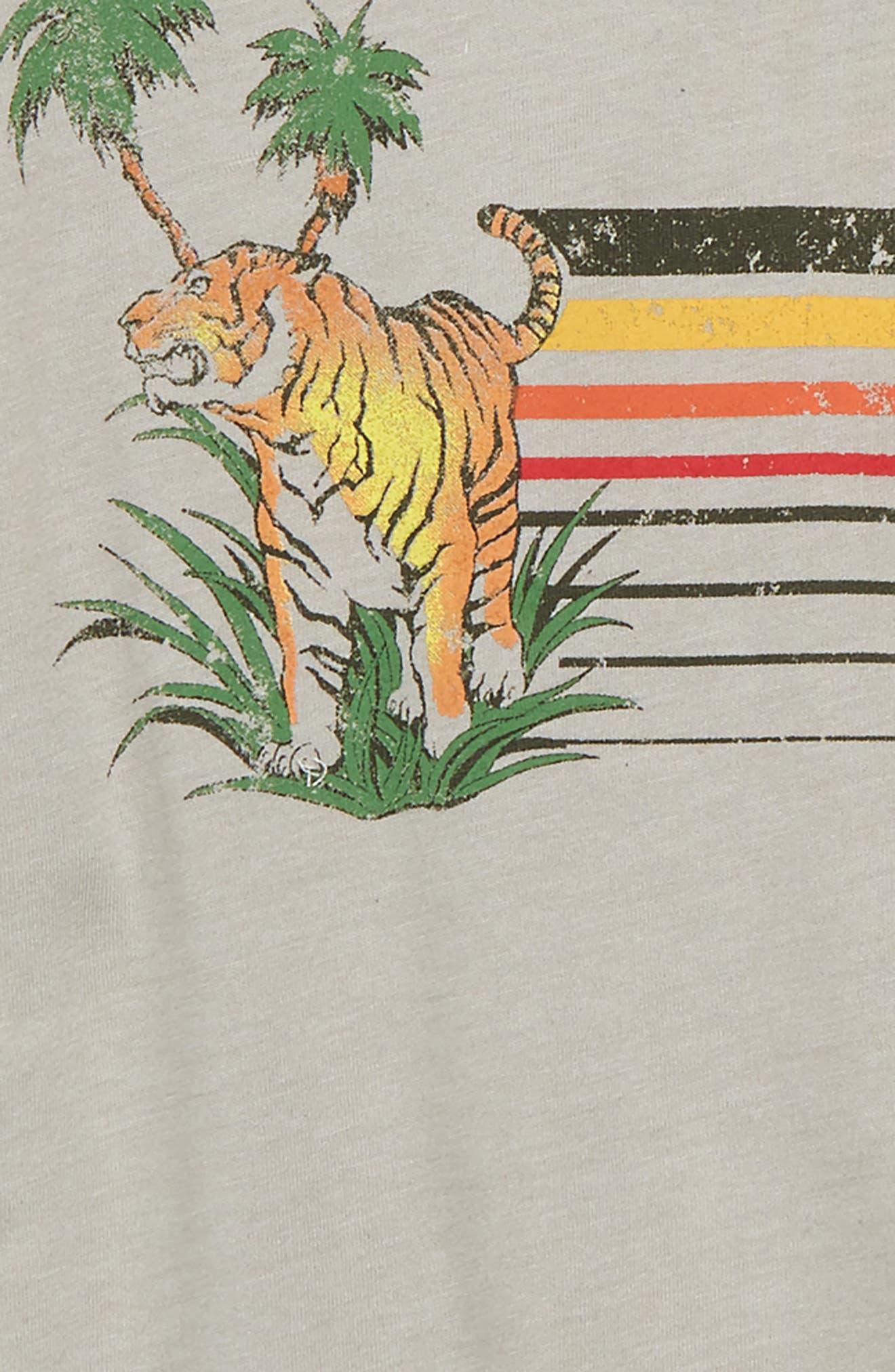 Tiger Terrain Graphic T-Shirt,                             Alternate thumbnail 2, color,                             Pelican