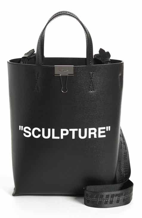 Off-White Medium New Sculpture Leather Tote