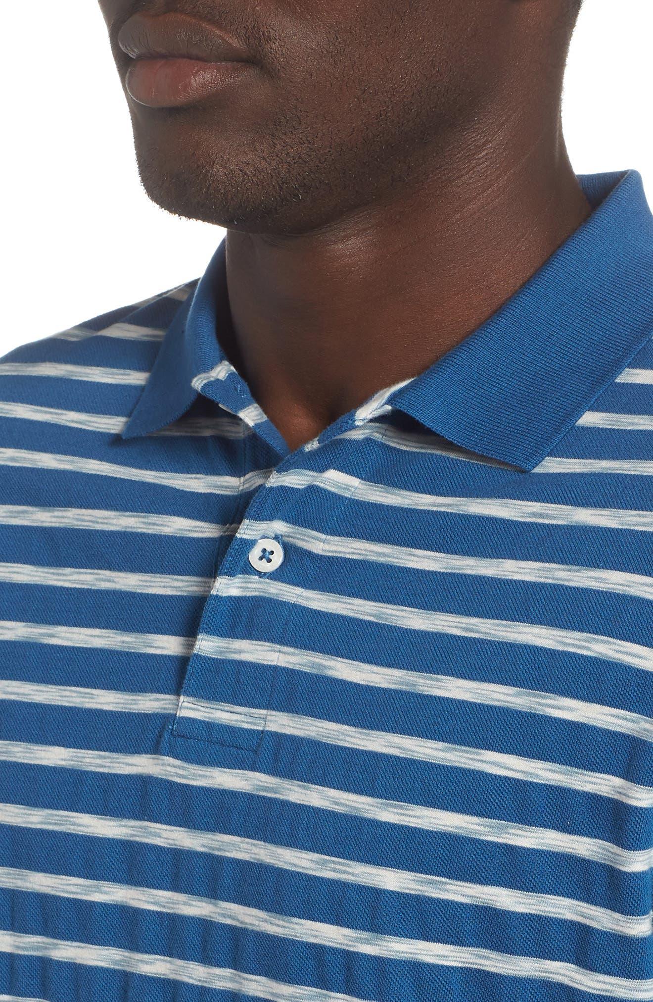 Galley Polo,                             Alternate thumbnail 4, color,                             Sea Blue