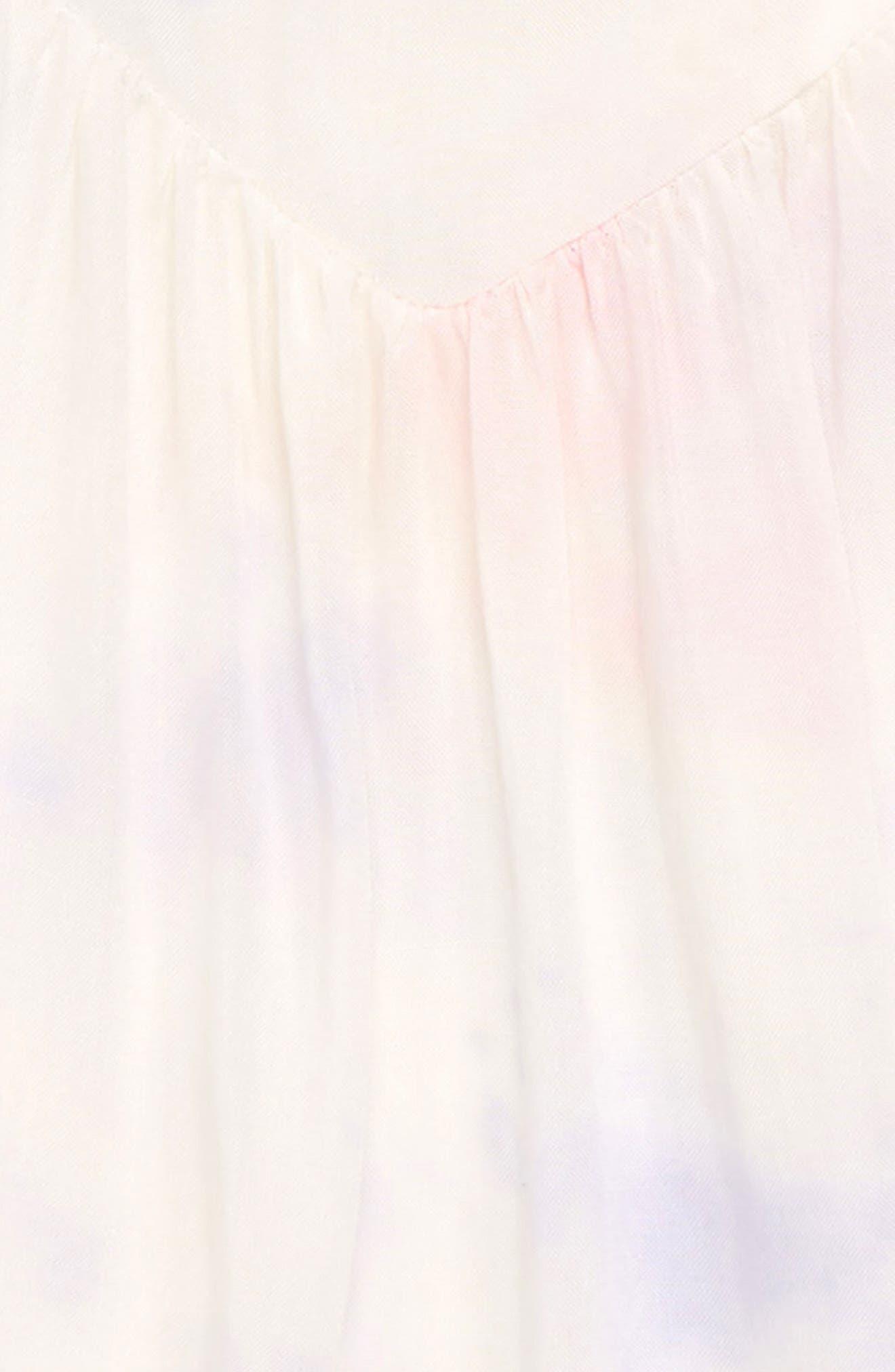 Crystal Tie Dye Swing Tank,                             Alternate thumbnail 2, color,                             White