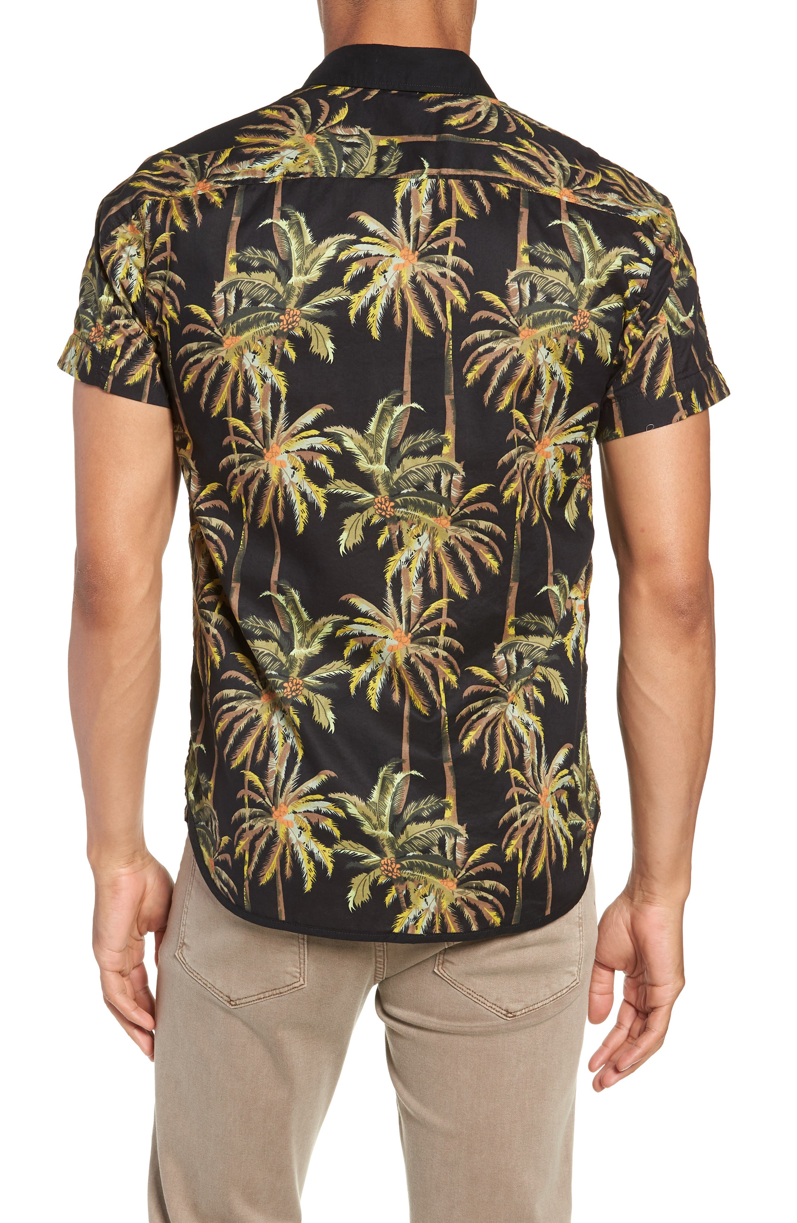 The Poolside Camp Shirt,                             Alternate thumbnail 4, color,                             Combo A
