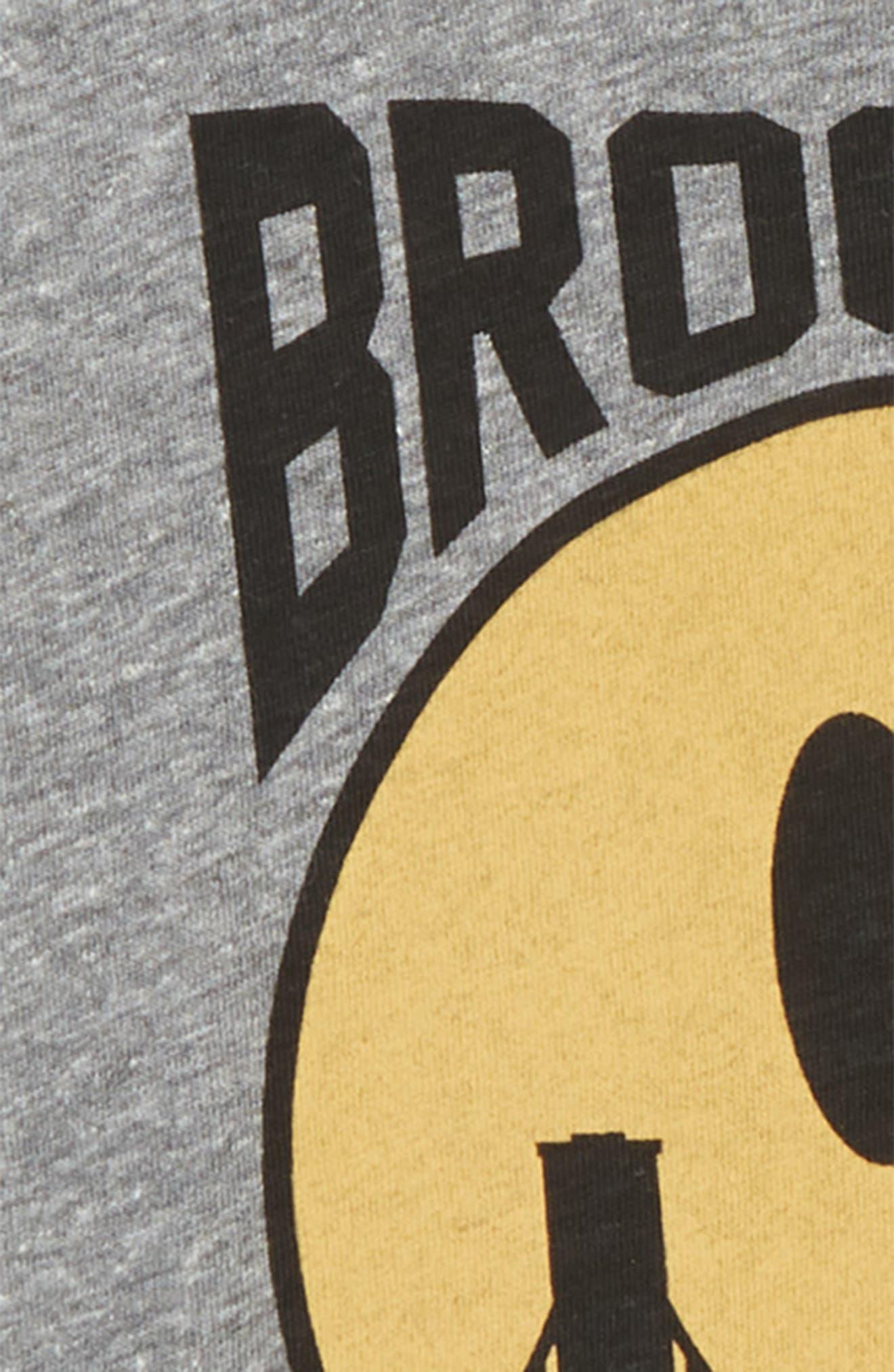 Brooklyn Graphic T-Shirt,                             Alternate thumbnail 2, color,                             Tri Grey
