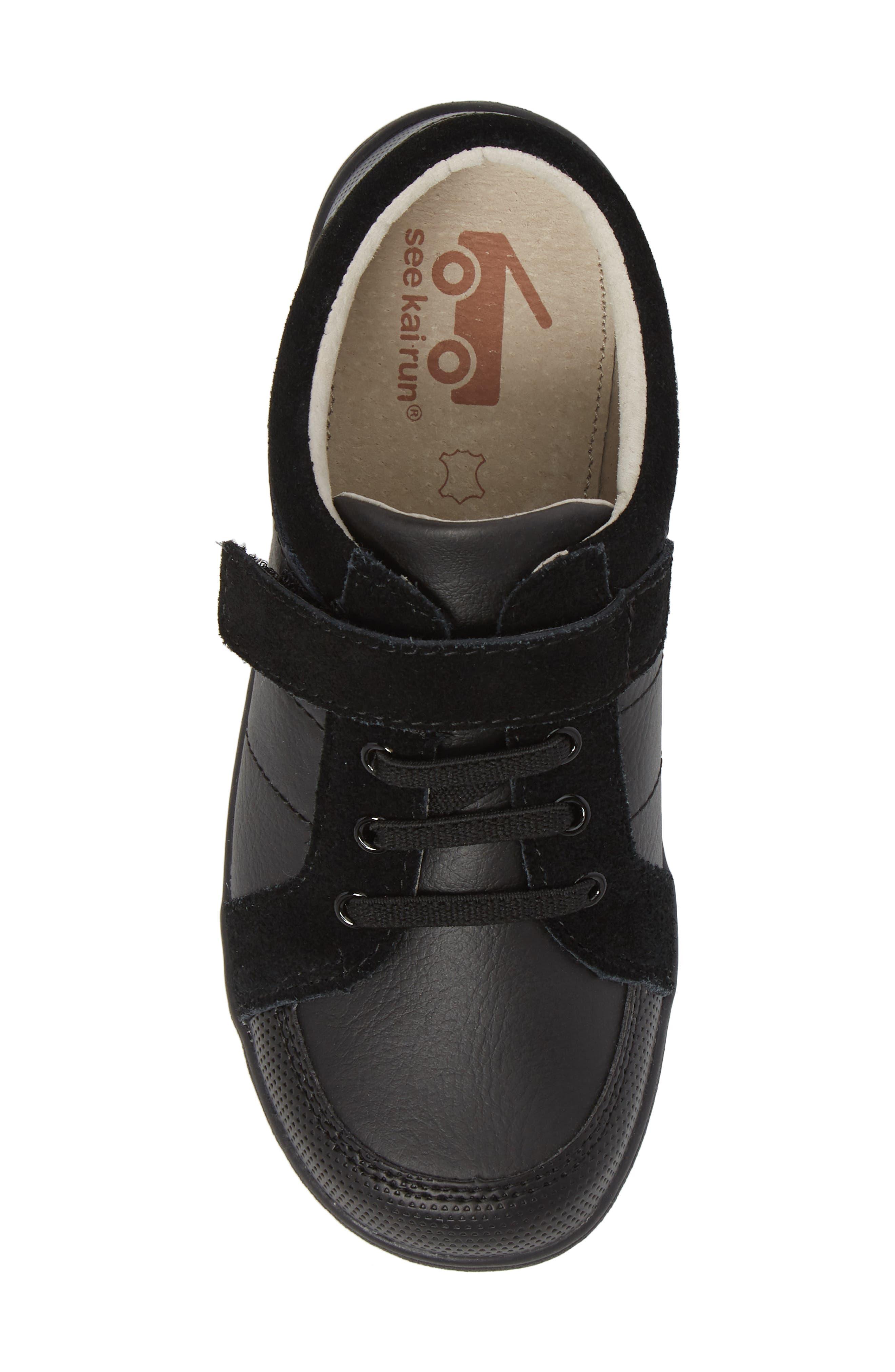Randal III Sneaker,                             Alternate thumbnail 6, color,                             Black