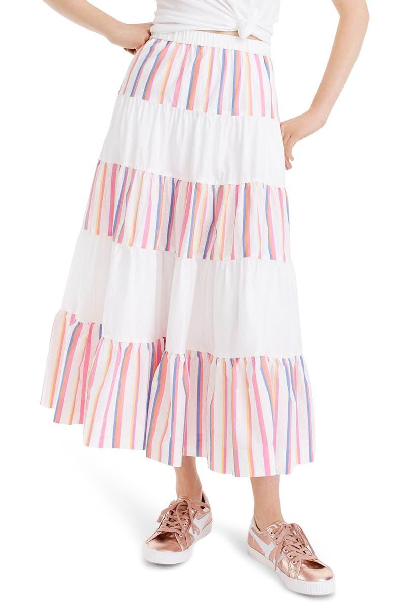 French Creek Mixy Stripe Skirt