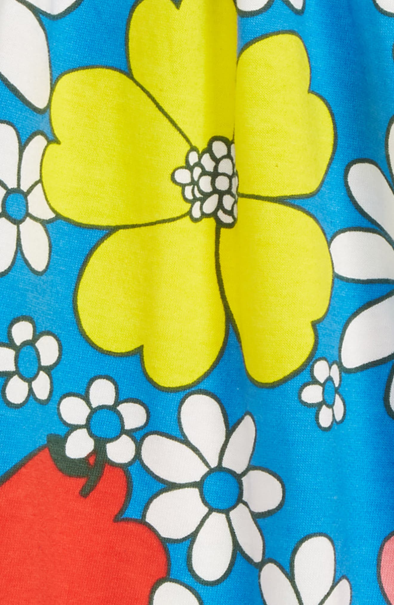 Jersey Tunic,                             Alternate thumbnail 2, color,                             Blue Flower Power
