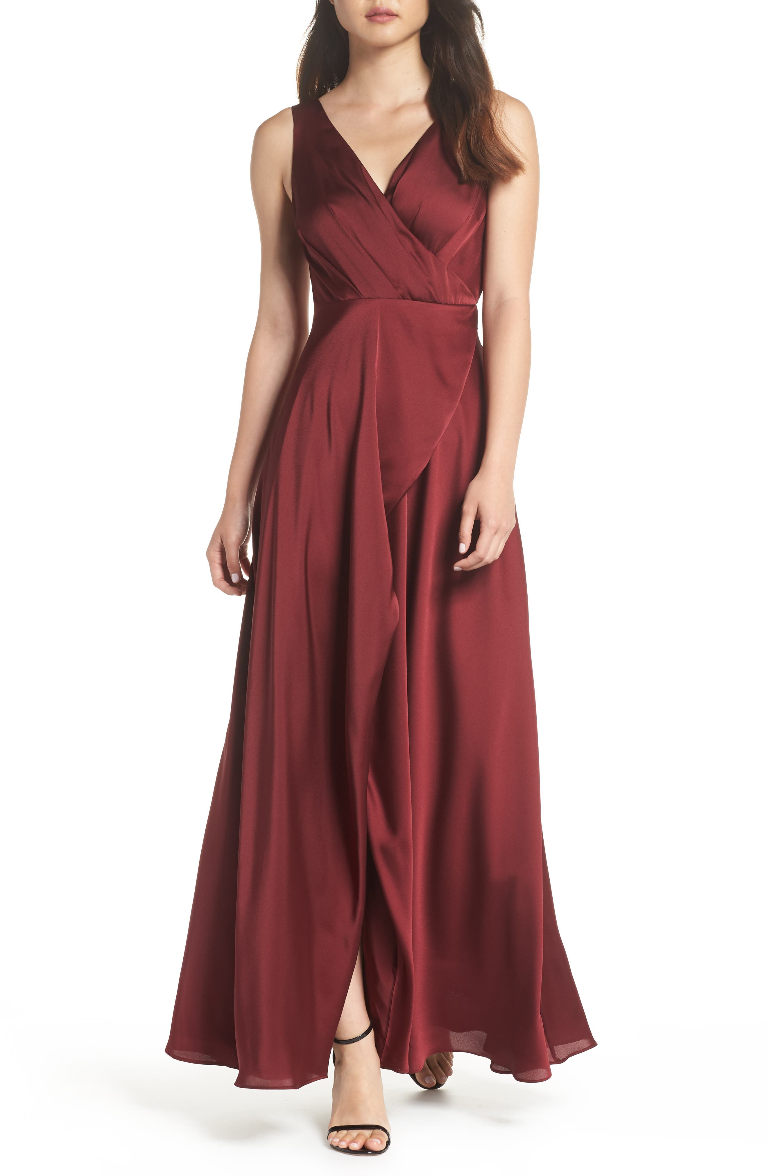 FAME AND PARTNERS VIVIAN A-LINE GOWN