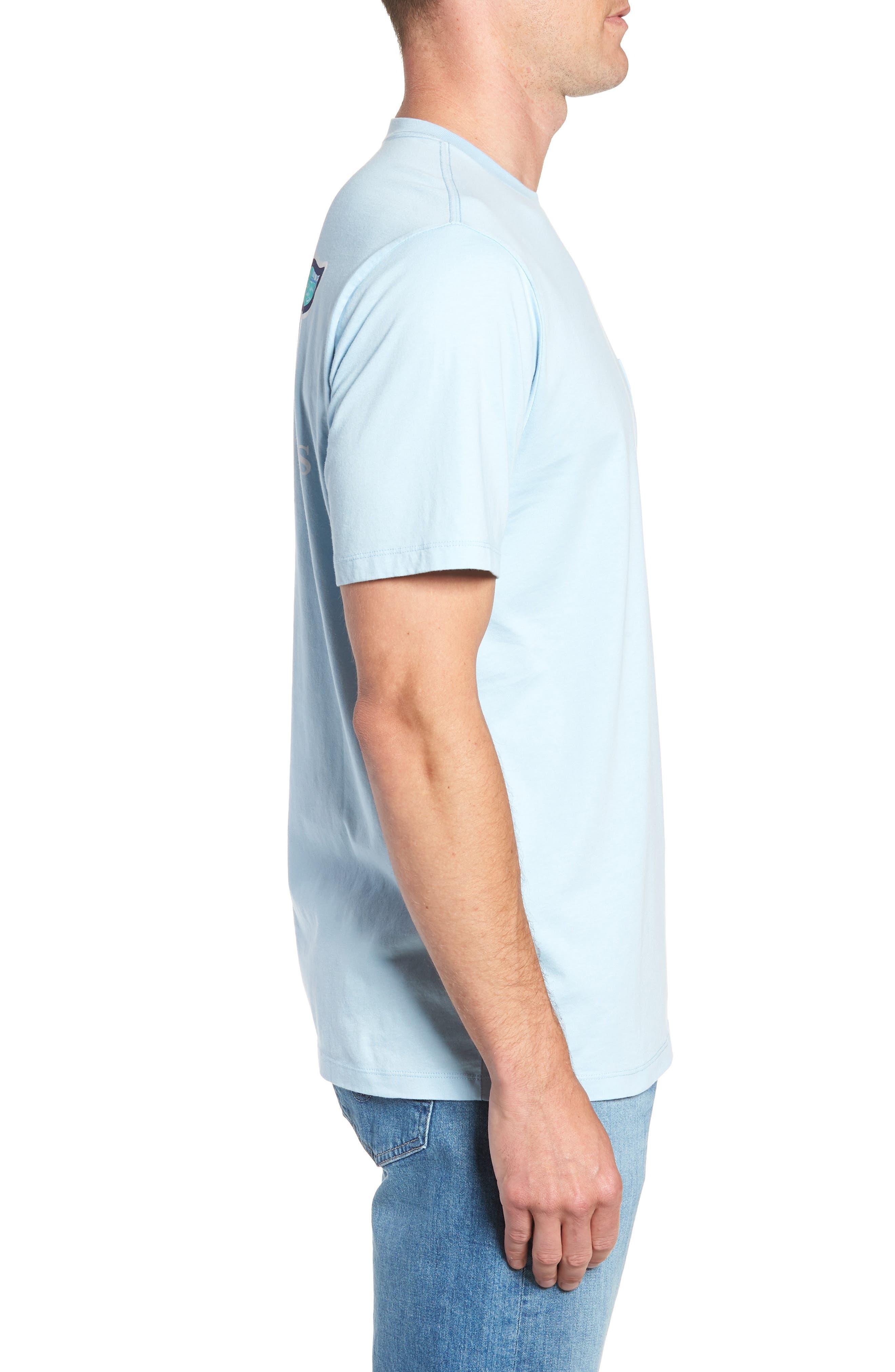 Sailing the Vineyard Pocket T-Shirt,                             Alternate thumbnail 5, color,                             Jake Blue