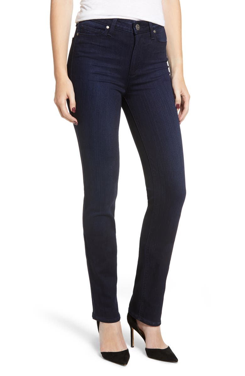 Transcend - Hoxton High Waist Straight Leg Jeans
