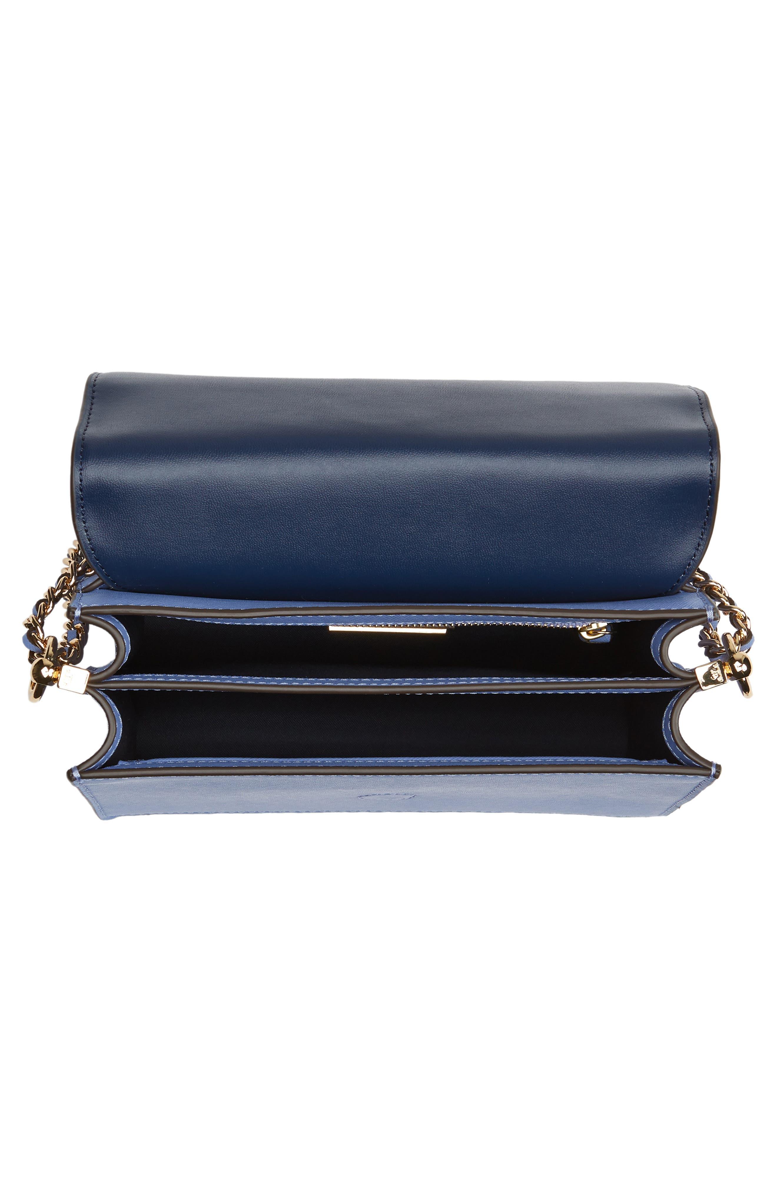 Robinson Convertible Leather Shoulder Bag,                             Alternate thumbnail 6, color,                             Bow Blue