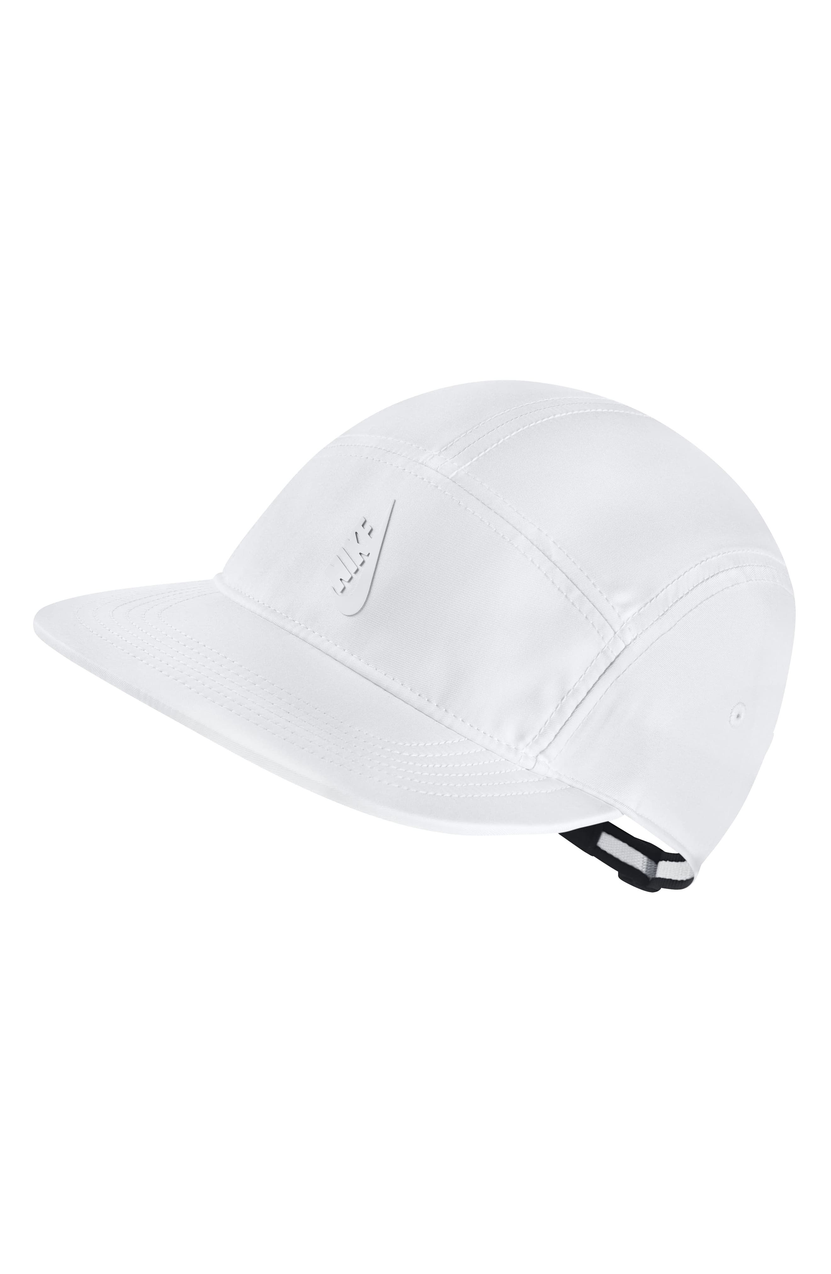 Sportswear NikeLab Baseball Cap,                             Main thumbnail 1, color,                             White/ Black/ White/ White