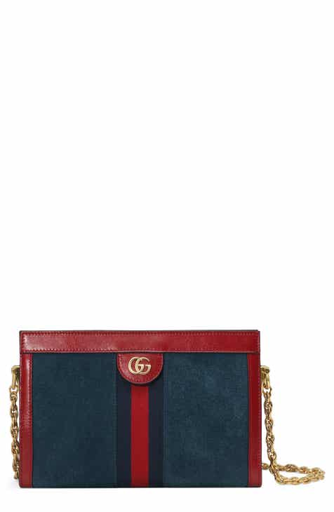 7ab0826ab5d Gucci Small Ophidia Suede Shoulder Bag