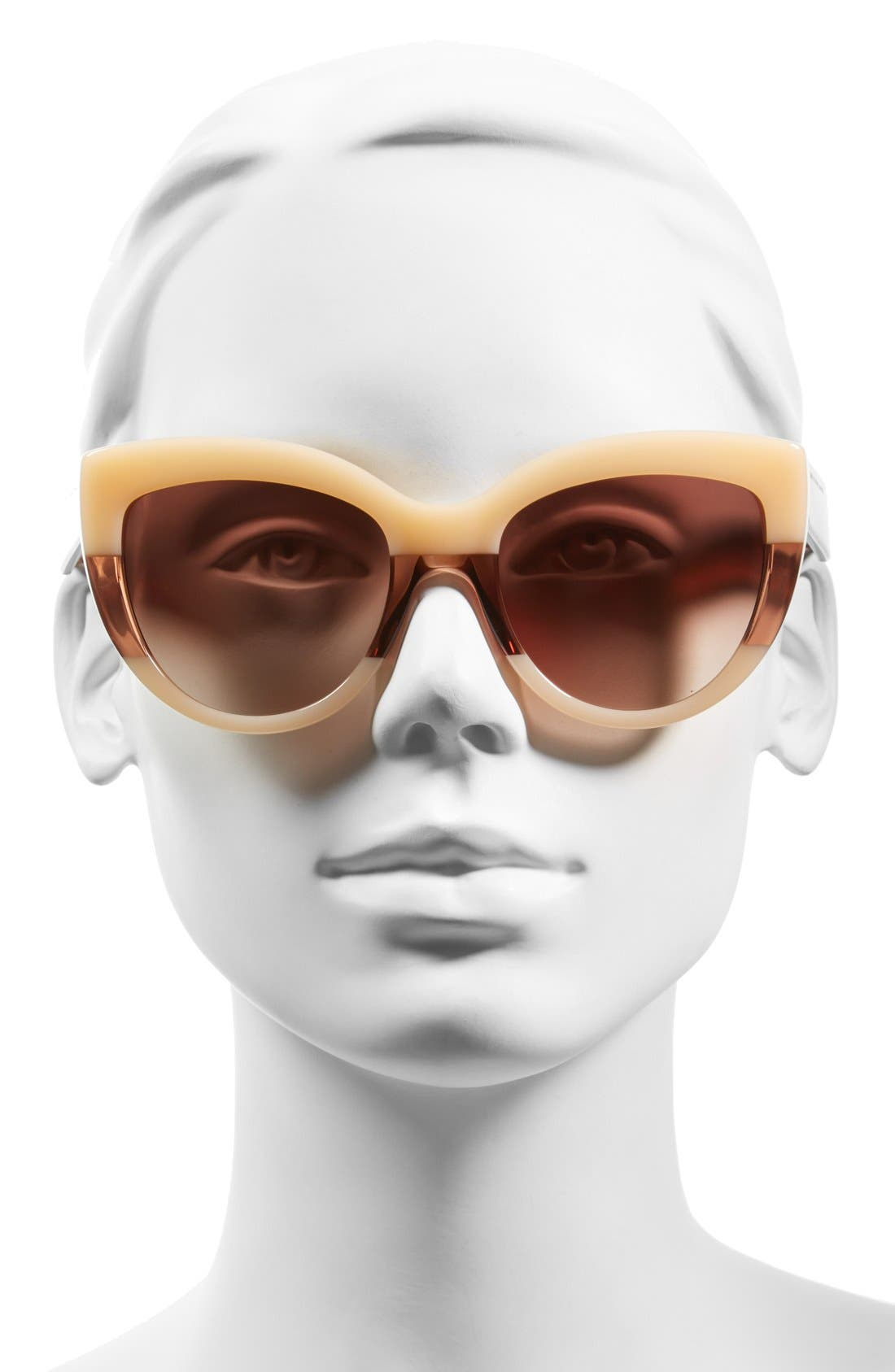 Alternate Image 2  - MARC BY MARC JACOBS 53mm Cat Eye Sunglasses