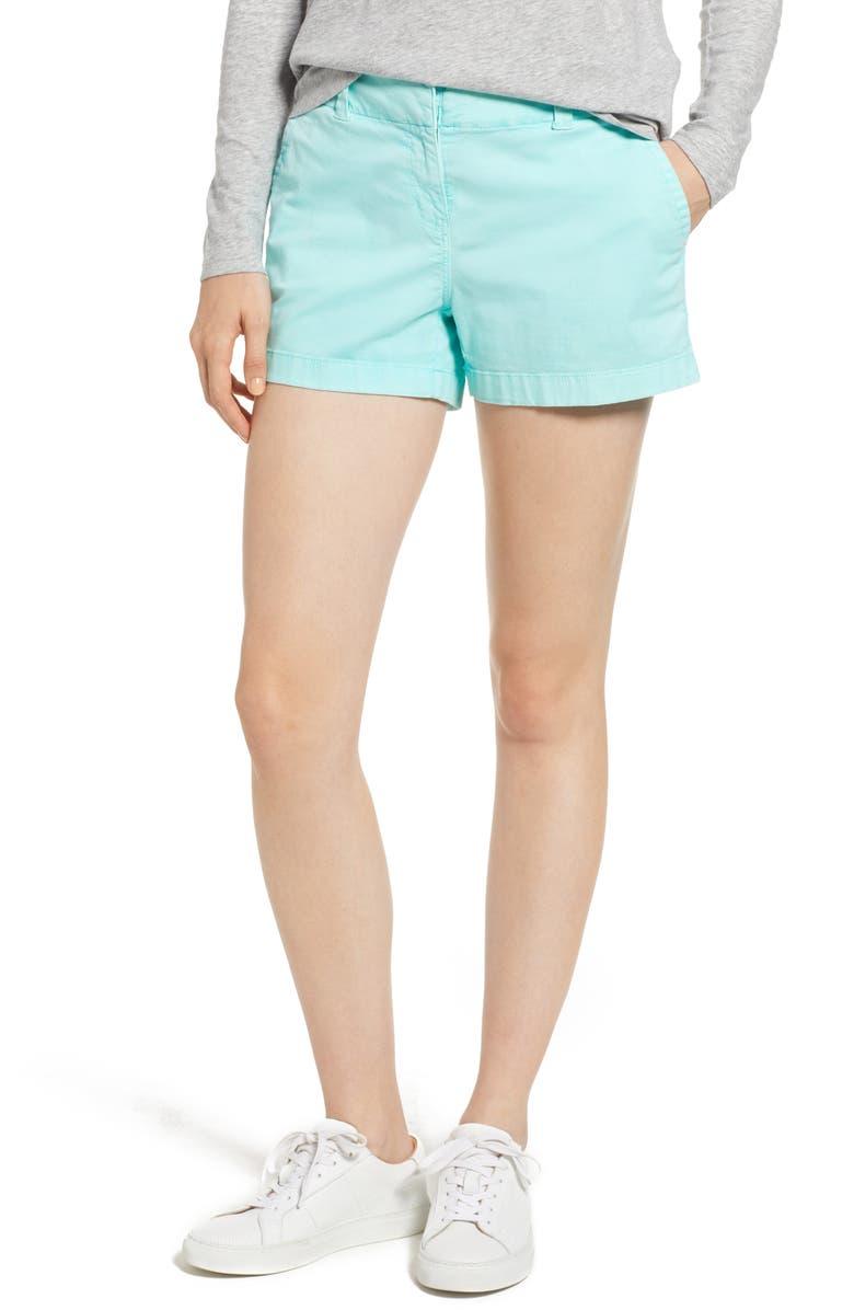 Everyday Stretch Cotton Shorts
