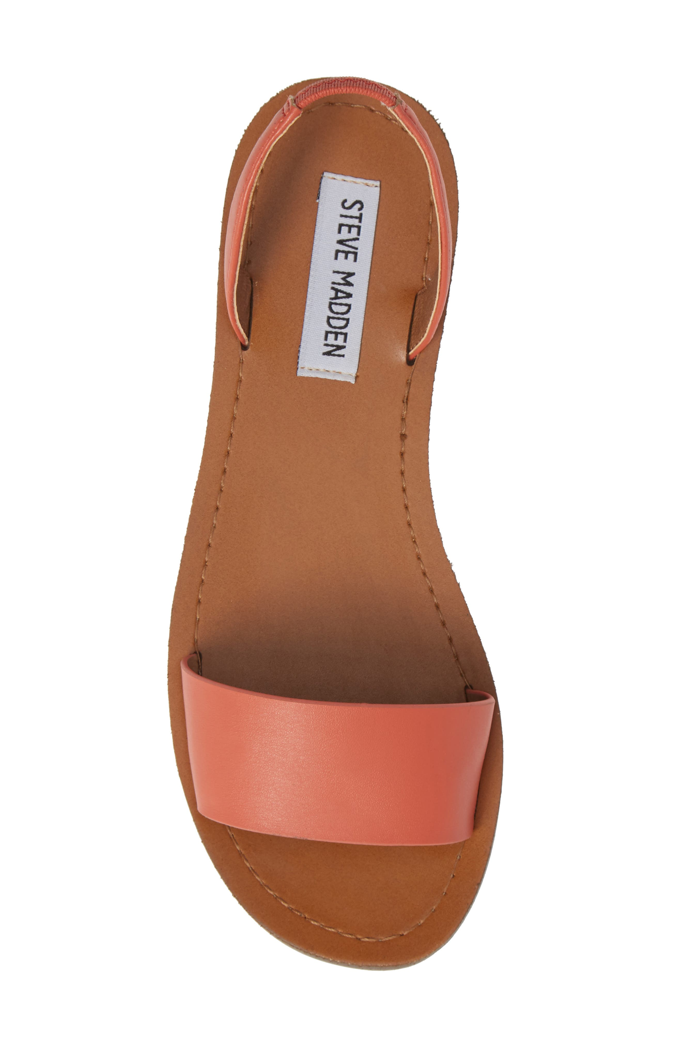 Alina Sandal,                             Alternate thumbnail 5, color,                             Coral