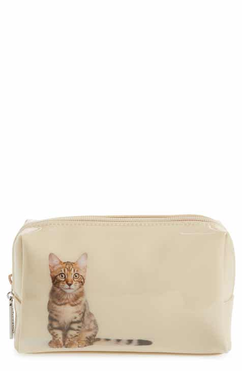 Catseye London Tabby Cat Cosmetics Case Nordstrom Exclusive