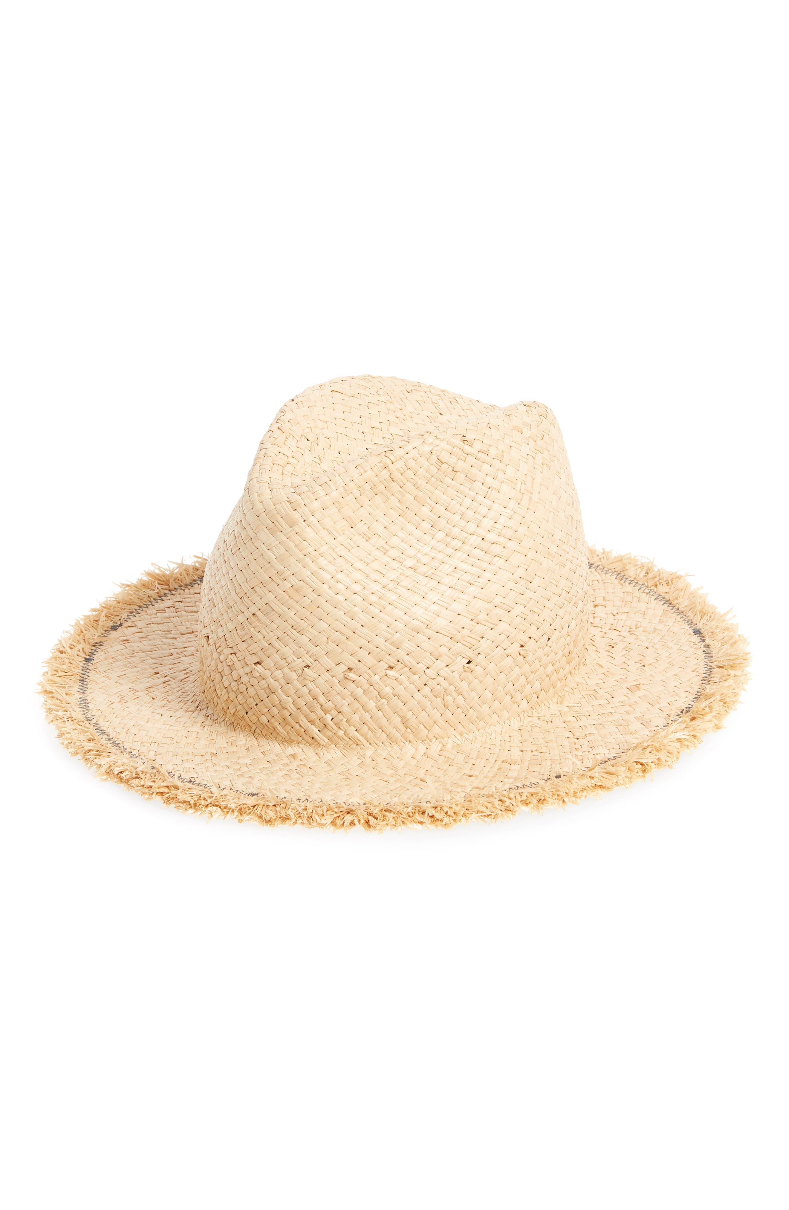 LOLA HATS DAD'S STRAW HAT - BROWN