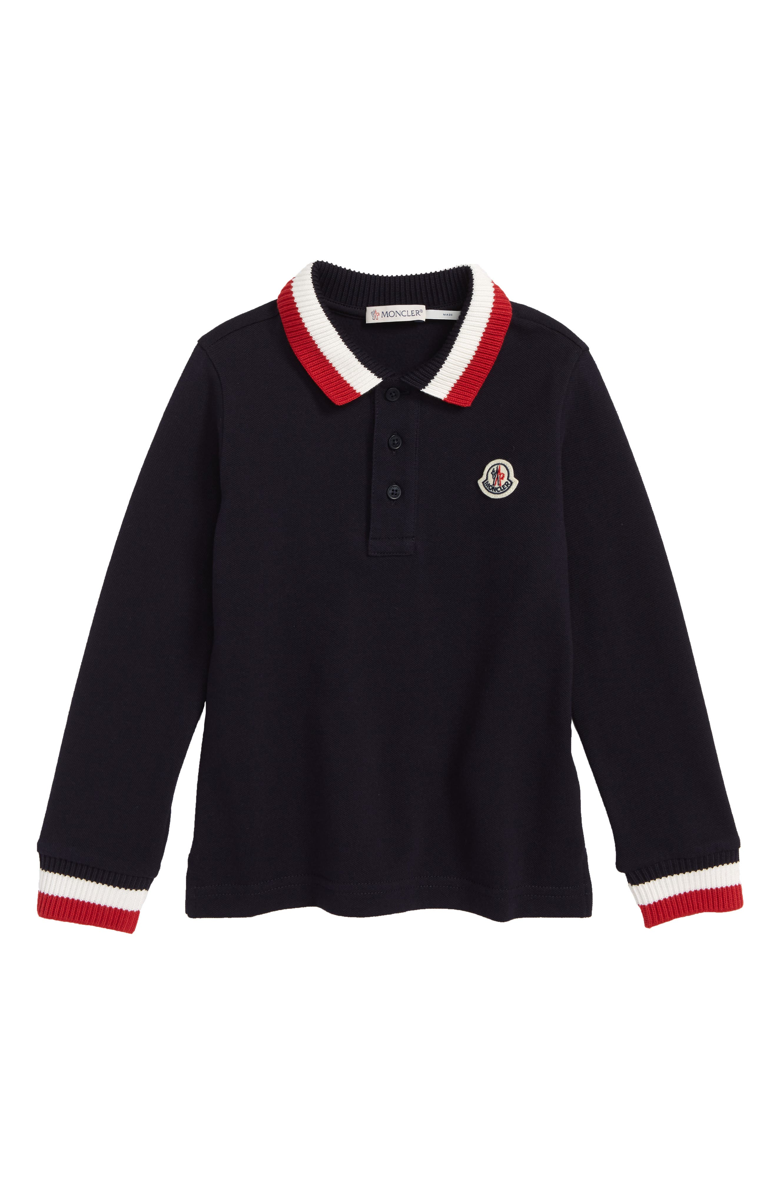 Moncler Ribbed Polo (Little Boys & Big Boys)