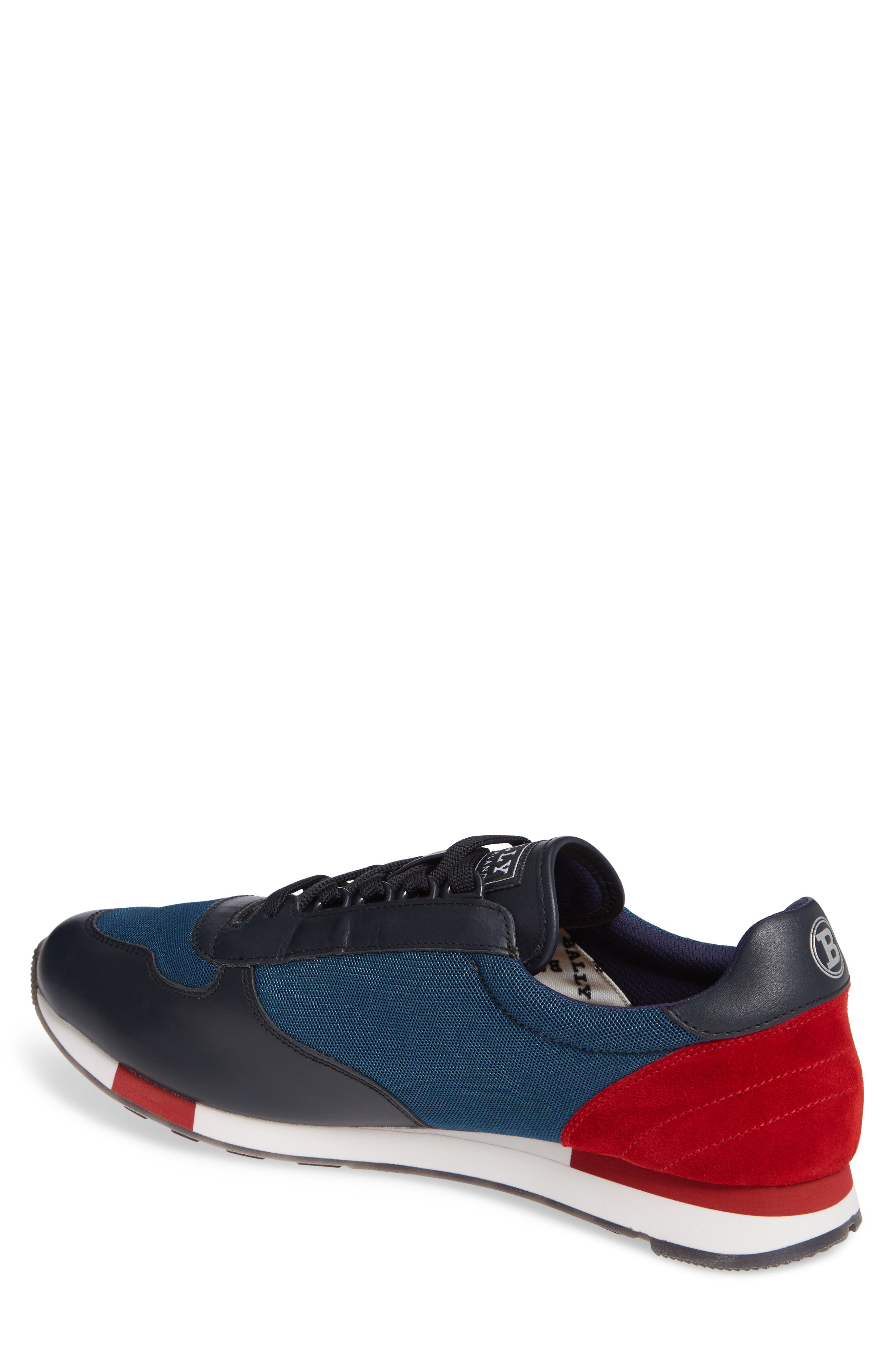 Gavino Low Top Sneaker,                             Alternate thumbnail 2, color,                             Blue
