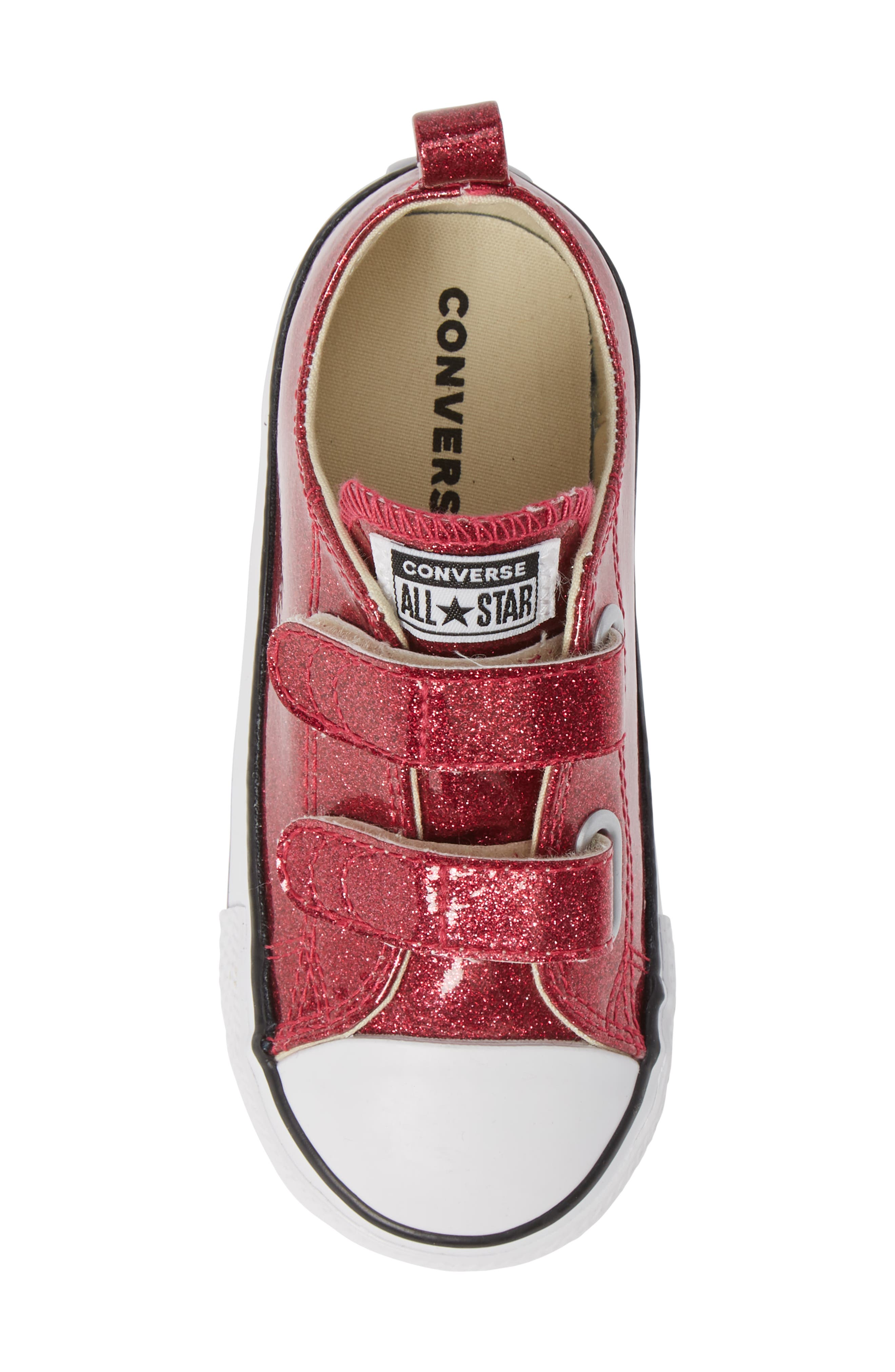 All Star<sup>®</sup> Seasonal Glitter Sneaker,                             Alternate thumbnail 6, color,                             Pink Pop