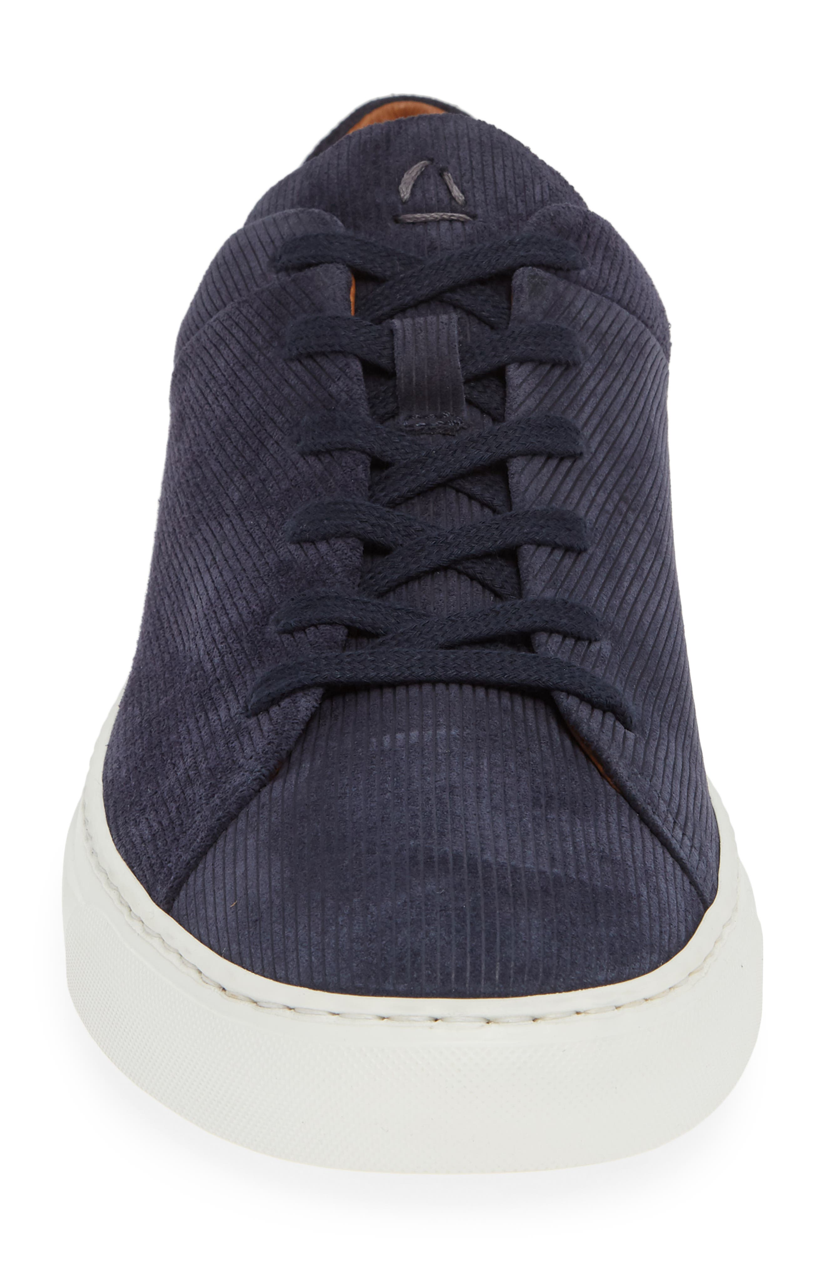 Alaric Sneaker,                             Alternate thumbnail 3, color,                             Navy Suede
