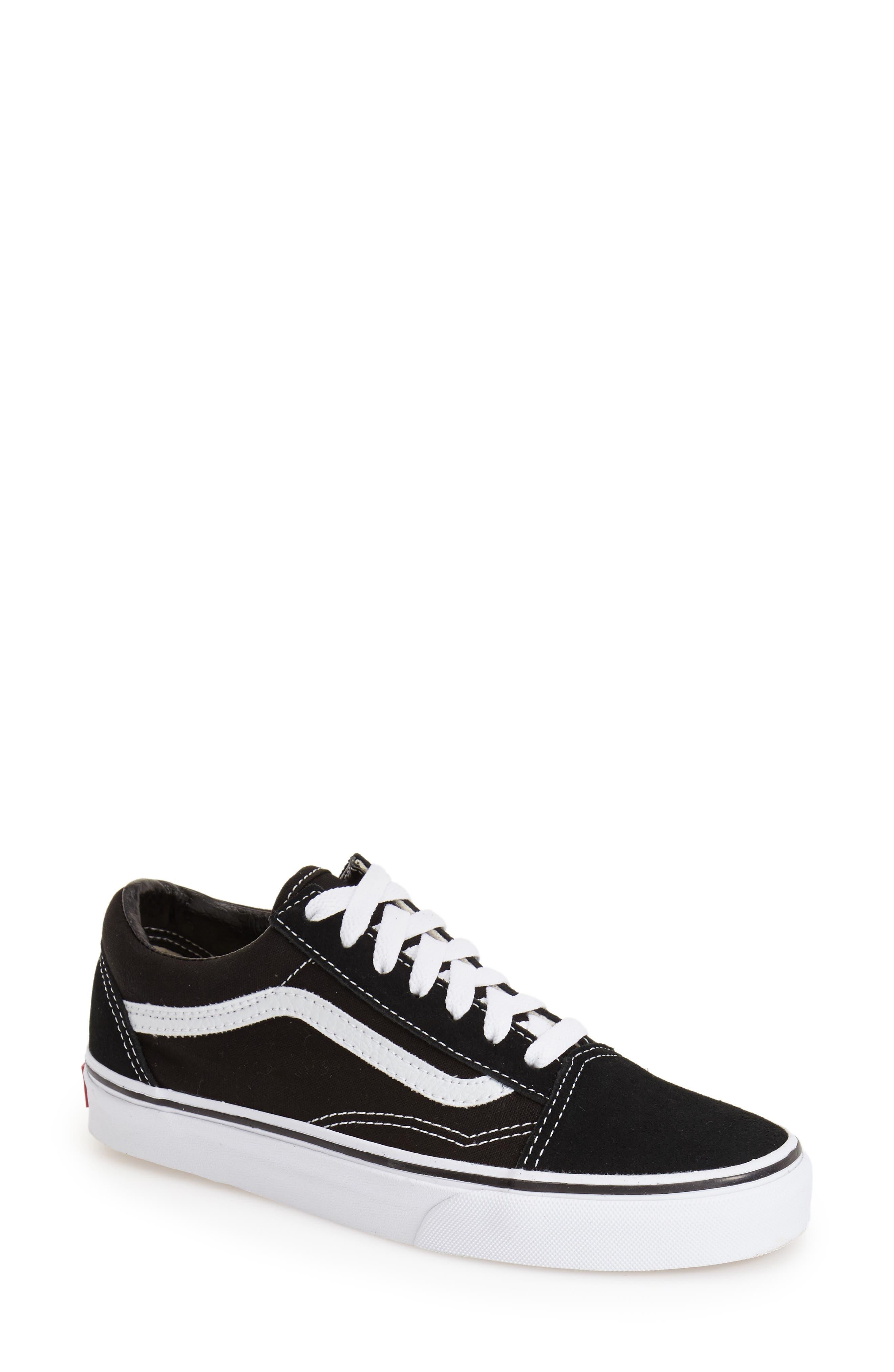 Old Skool Sneaker,                             Main thumbnail 1, color,                             Black Canvas
