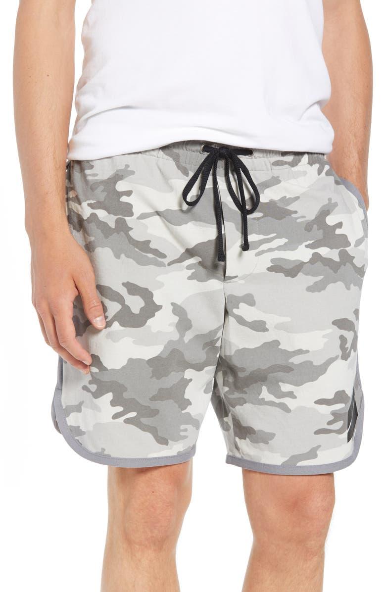 Camo Heavy Jersey Basketball Shorts