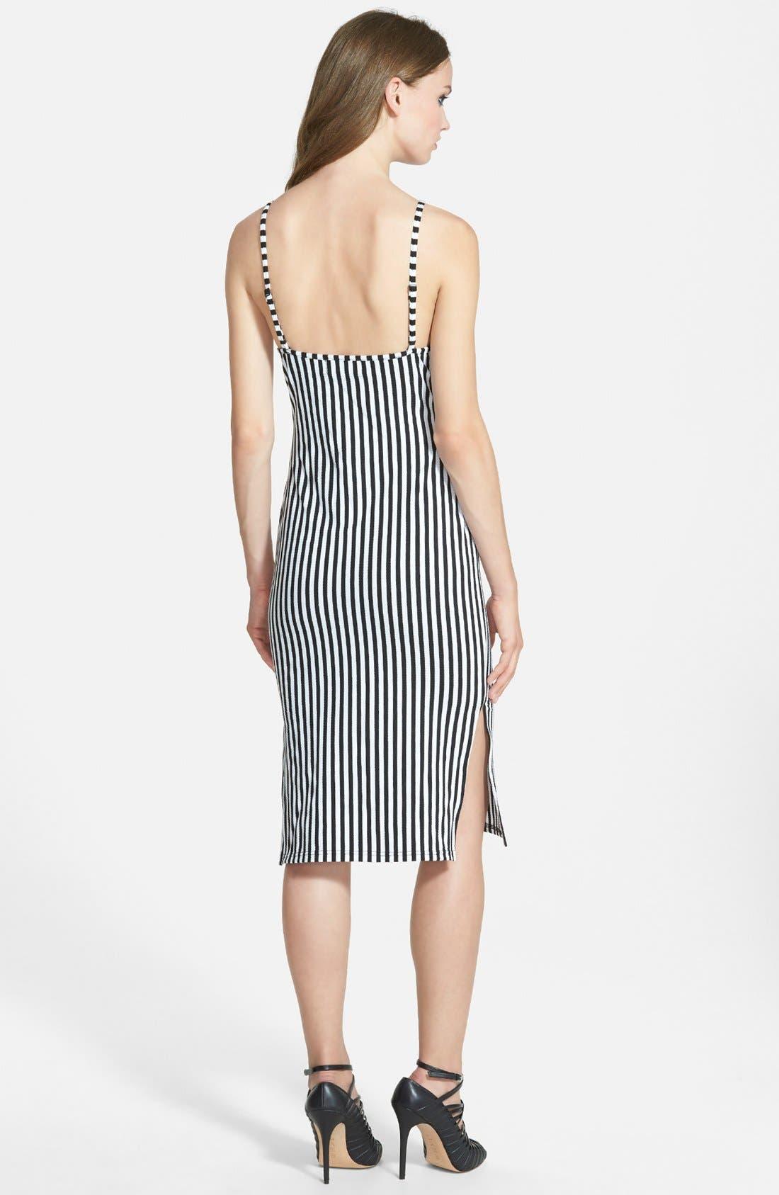 Alternate Image 2  - MINKPINK 'Stealing Harvard' Midi Dress