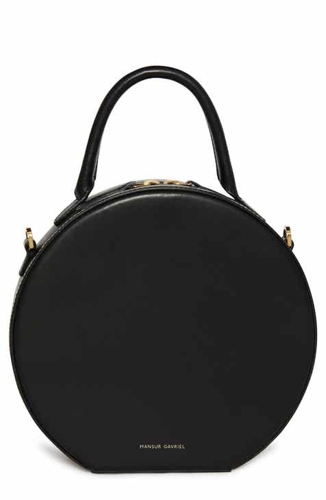 dab1476279f Mansur Gavriel Leather Circle Crossbody Bag
