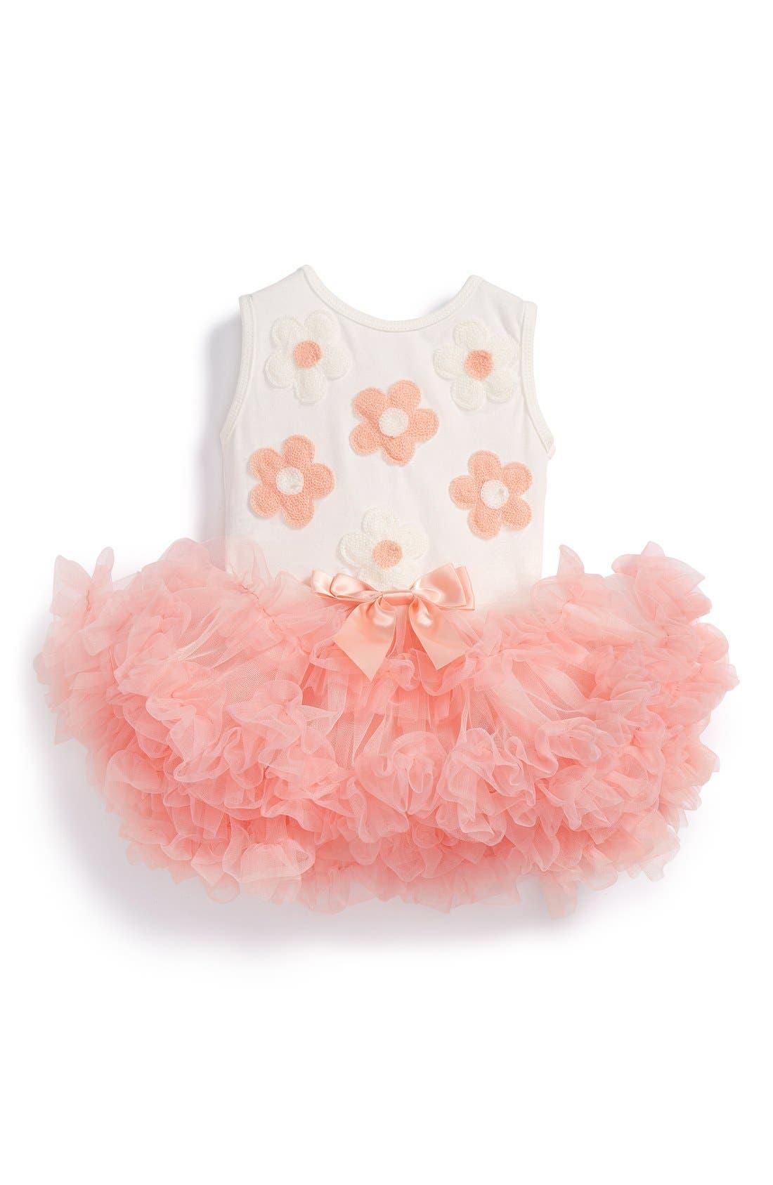 Popatu 'Daisy' Tulle Dress (Baby Girls)
