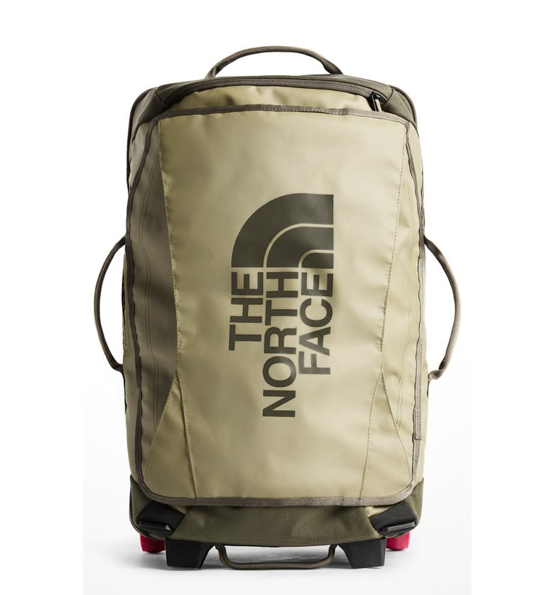 The North Face Rolling Thunder 21-Inch Wheeled Carry-On - Green In Taupe 70466f252501d