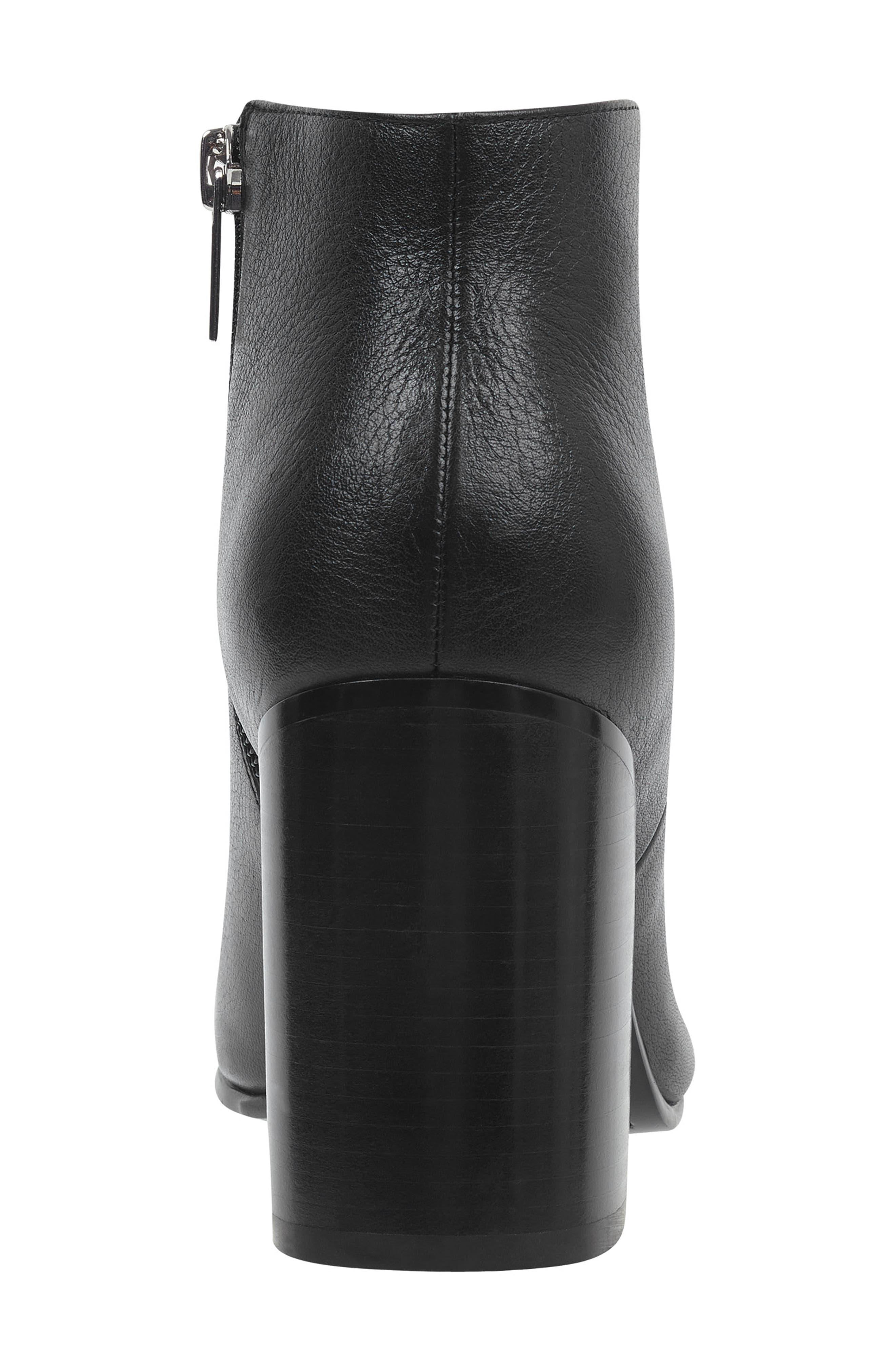 Quella Bootie,                             Alternate thumbnail 5, color,                             Black Leather