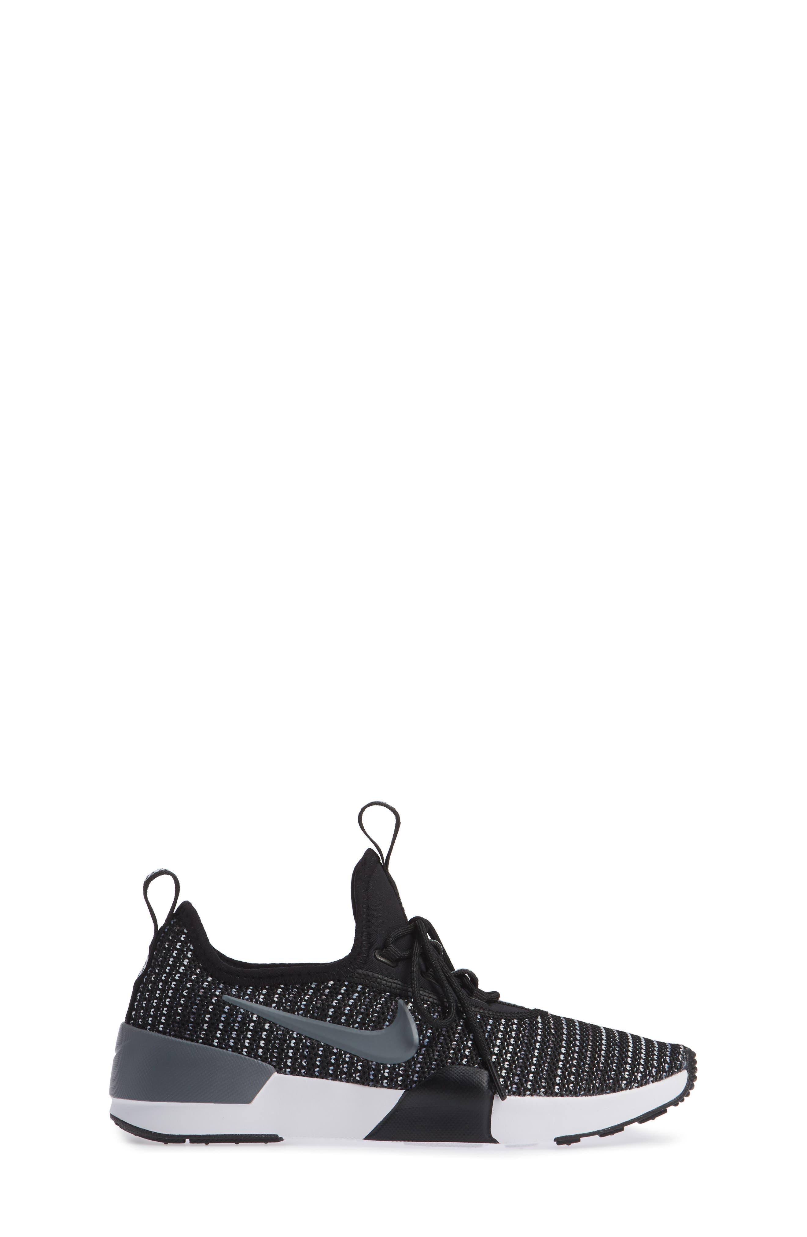 Ashin Modern Sock Knit Sneaker,                             Alternate thumbnail 4, color,                             Black/ Cool Grey/ Anthracite