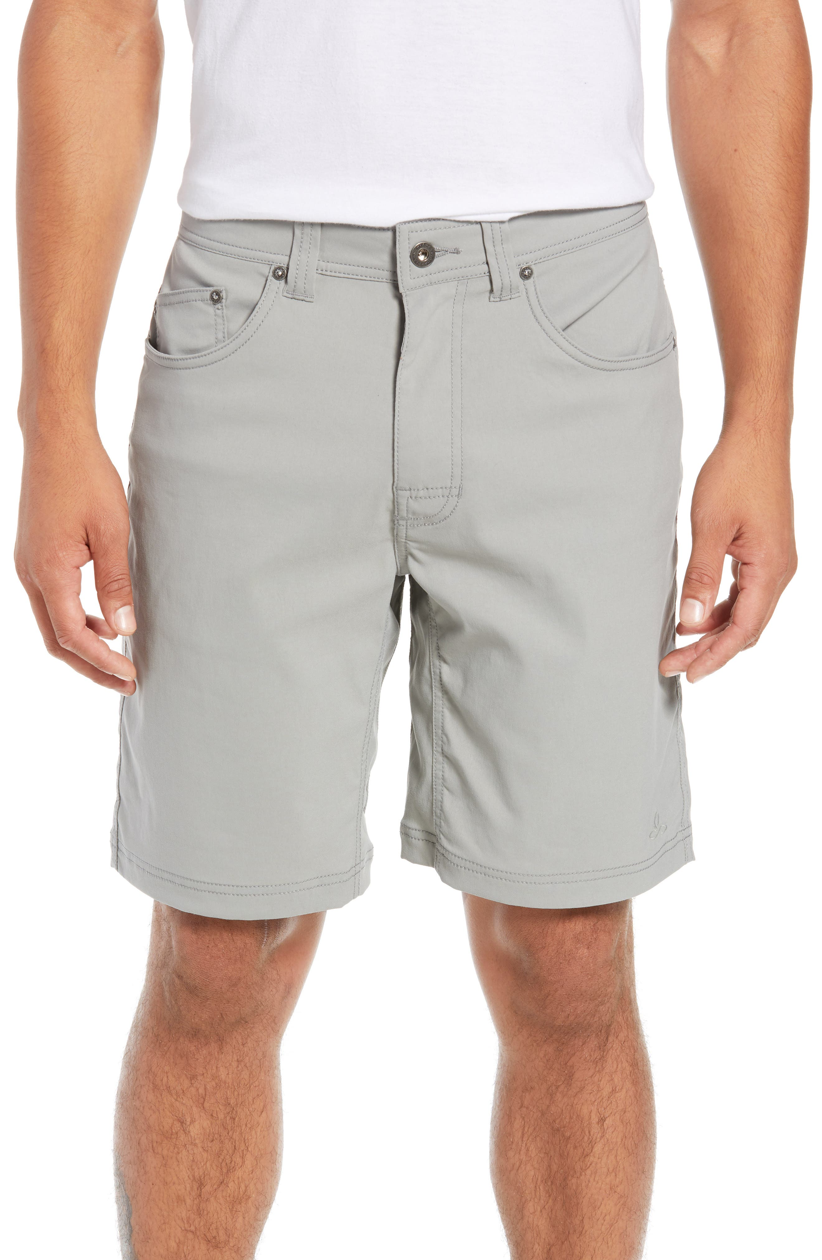 Brion Slim Fit Shorts,                         Main,                         color, Grey