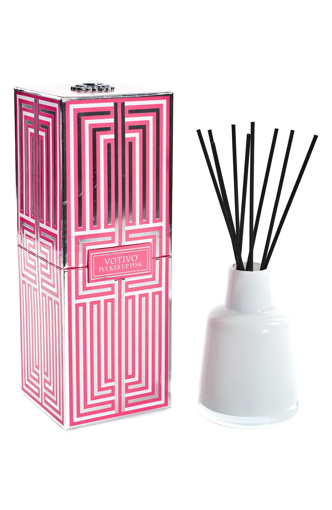 'Soziety' Aromatic Reed Diffuser,                         Main,                         color, Pucker Up Pink