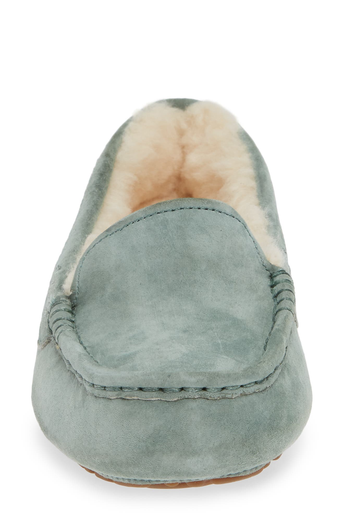 Ansley Water Resistant Slipper,                             Alternate thumbnail 3, color,                             Sea Green