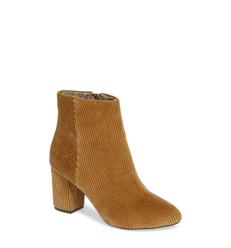 Chic Corduroy Booties