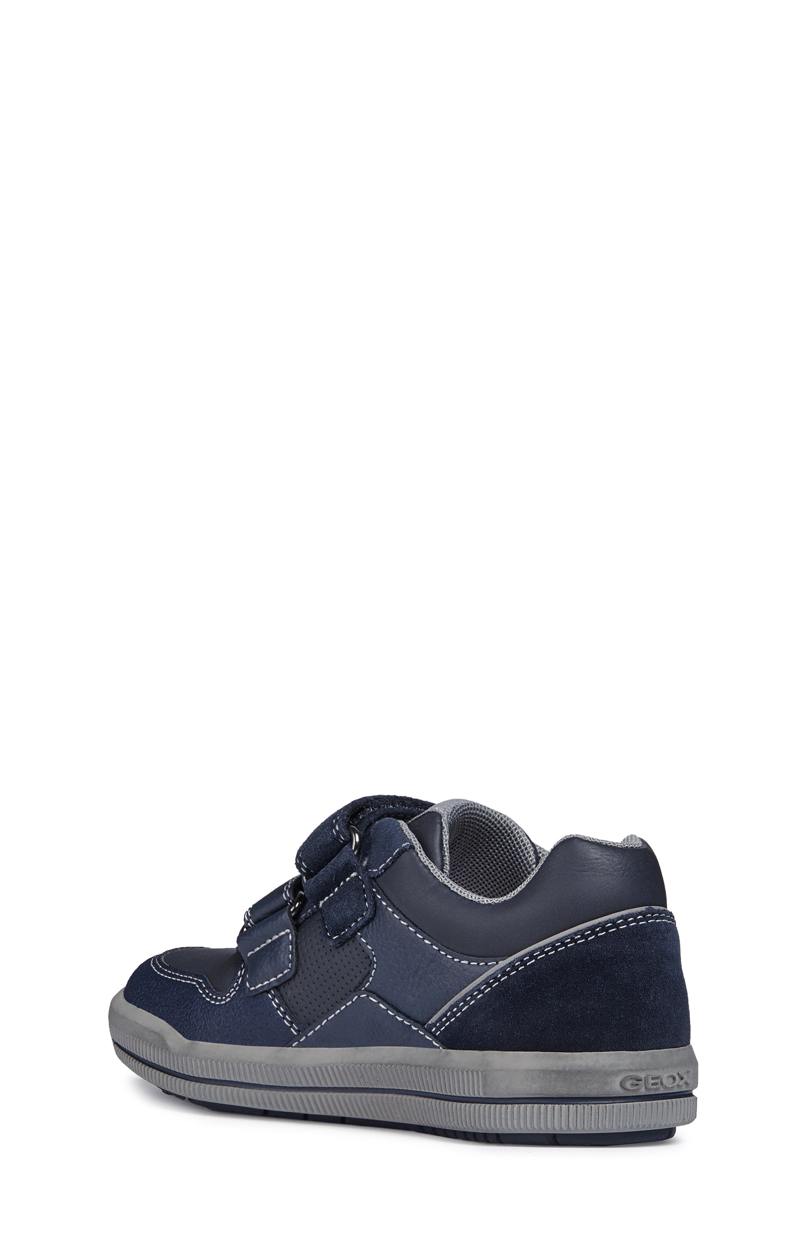 Jr Arzach Sneaker,                             Alternate thumbnail 2, color,                             Navy Blue/ Grey
