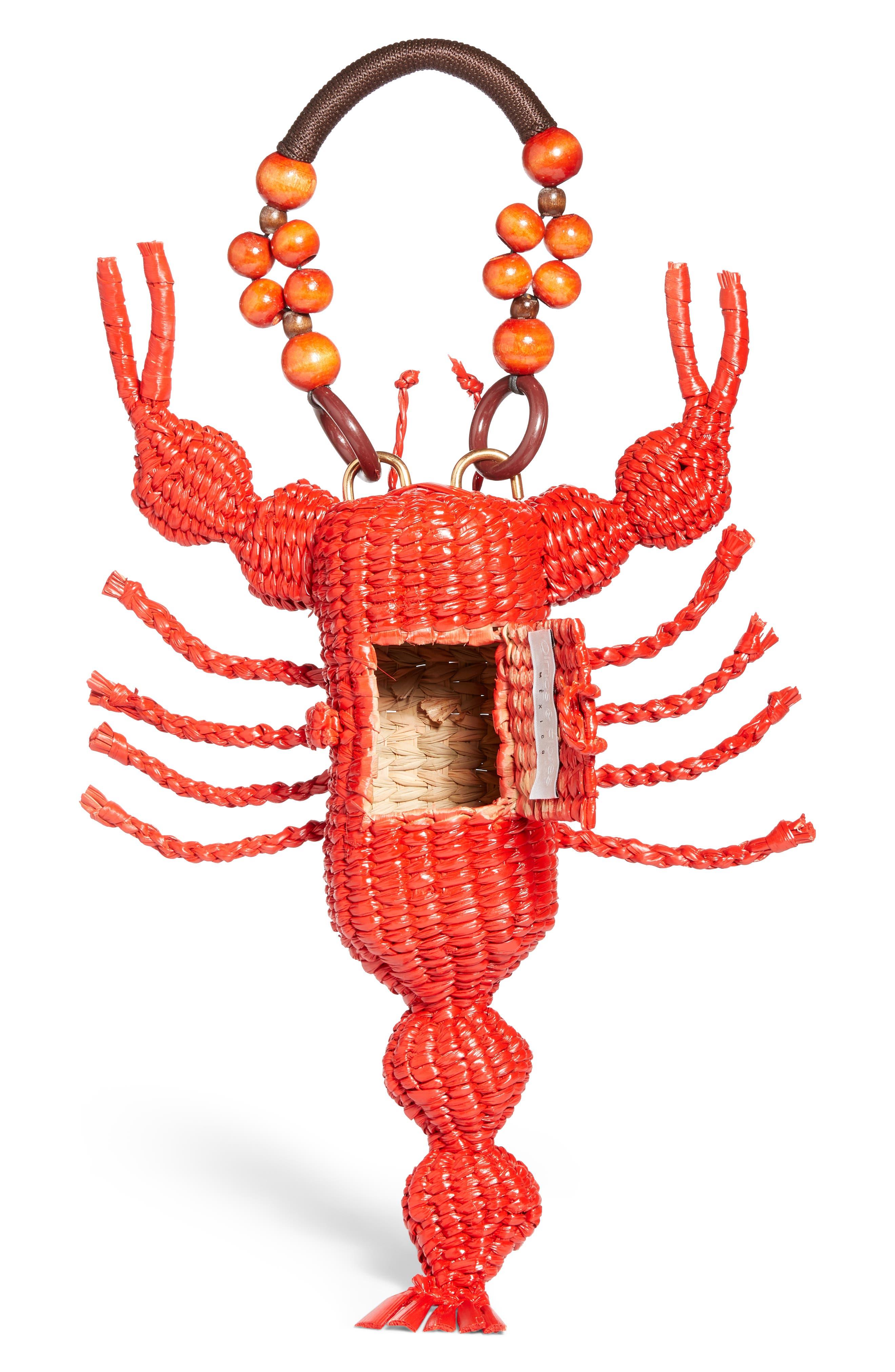 Lobster Bag,                             Alternate thumbnail 4, color,                             Red