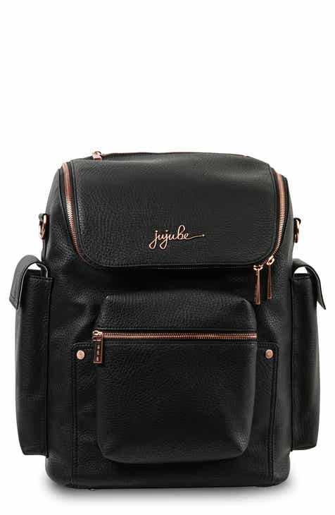 Ju Be Ever Collection Forever Faux Leather Diaper Backpack