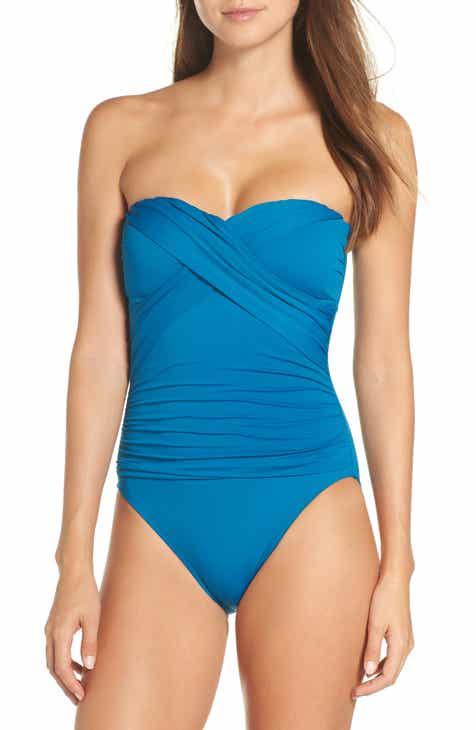 089ac3d59c La Blanca Bandeau One-Piece Swimsuit