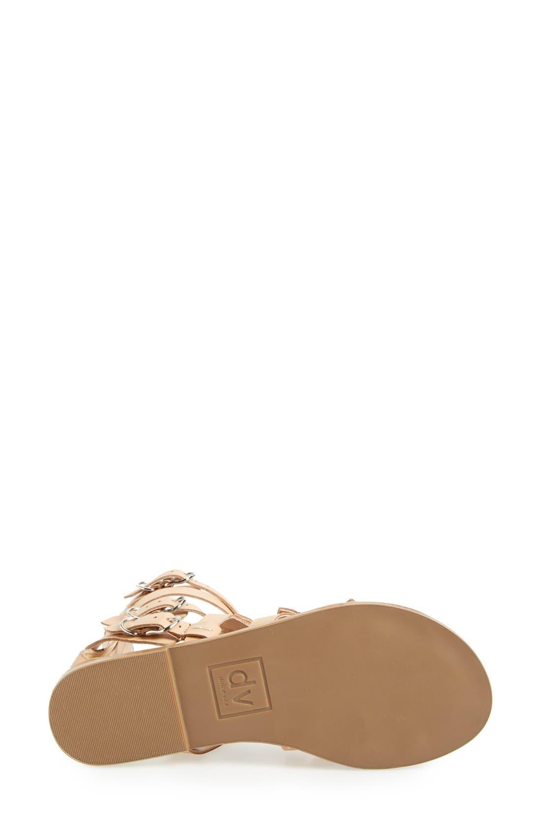 Alternate Image 4  - DV by Dolce Vita 'Okena' Leather Gladiator Sandal (Women)