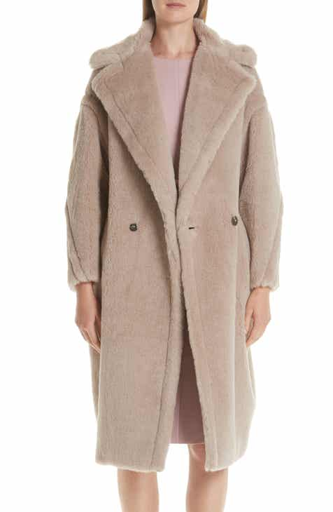 d984cef1b8504 Max Mara Ginnata Teddy Bear Icon Faux Fur Coat