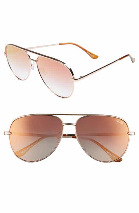 25478d8f790d Quay Australia x Desi Perkins High Key 62mm Aviator Sunglasses