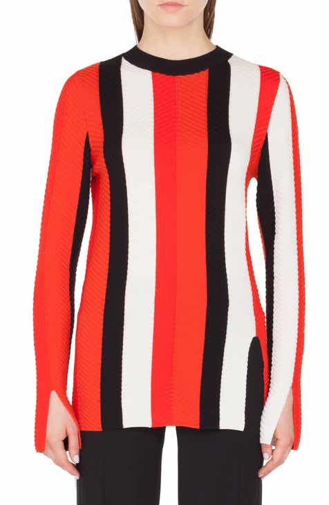 Akris punto Stripe Knit Pullover by AKRIS PUNTO