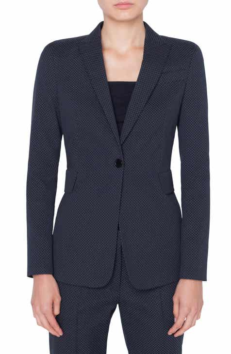 Akris punto Diamond Jacquard Blazer by AKRIS PUNTO