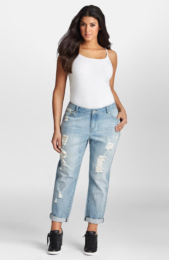 Shop a wide selection of plus size boyfriend jeans for women. Find the perfect color and style for you at Roamans - stylish plus size clothing and apparel for women. Customer Service EMAIL US. CALL US CALL US quick links. Track My Order Return An Item Update My Profile.