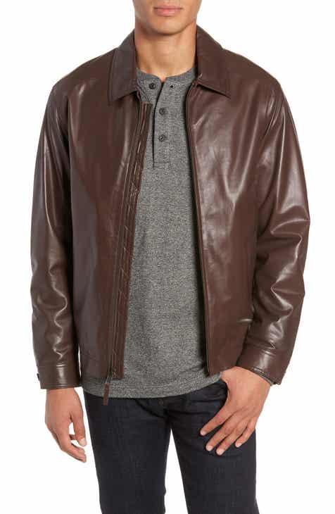 3e80d2bdc061 Golden Bear The Bartlett Leather Jacket