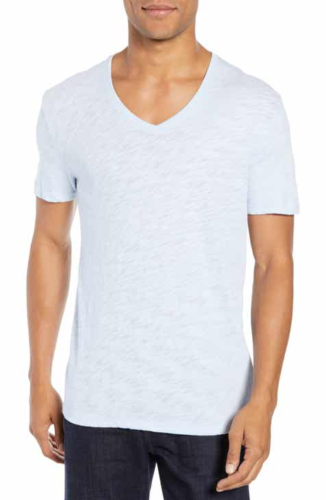 210a9b3801a ATM Anthony Thomas Melillo Slub V-Neck T-Shirt