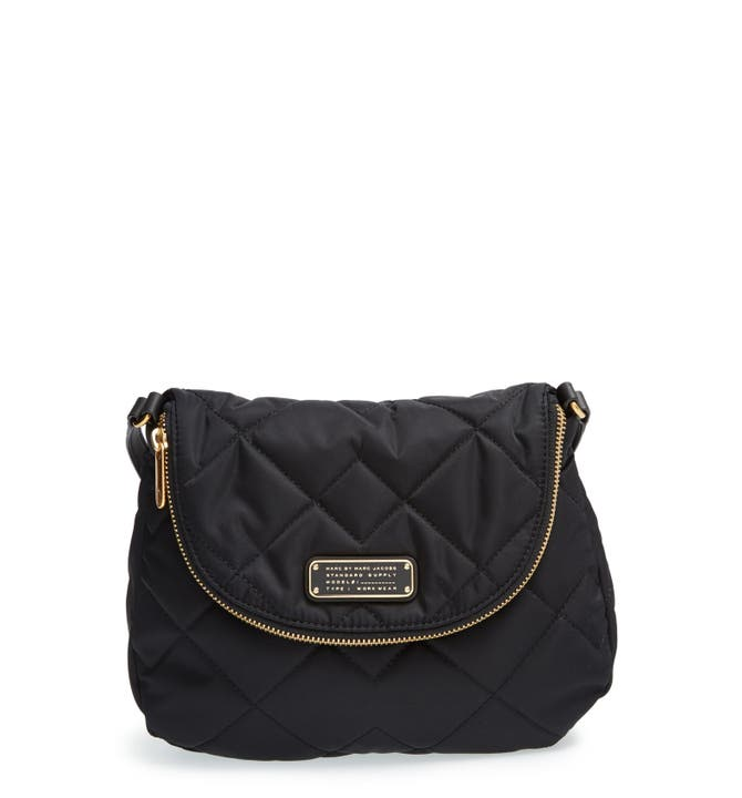 MARC BY MARC JACOBS 'Crosby - Quilted Natasha' Nylon Crossbody Bag ... : marc jacobs quilted crossbody bag - Adamdwight.com