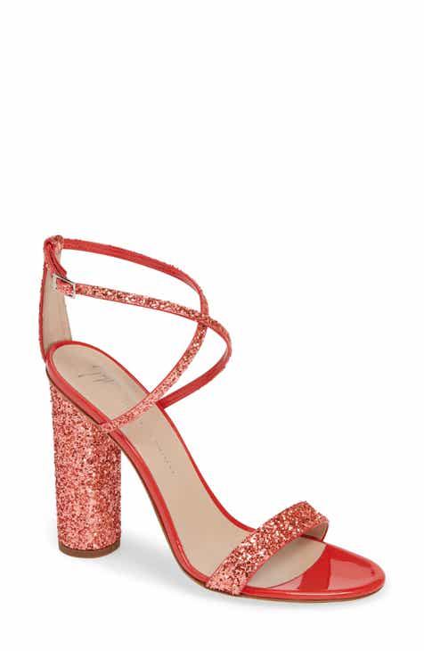 20530cf35b Giuseppe Zanotti Glitter Heel Sandal (Women)